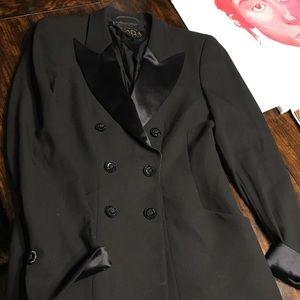 Escada 90s tuxedo jacket